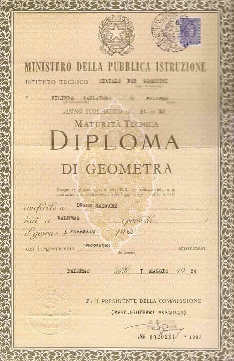 Diploma E Attestato